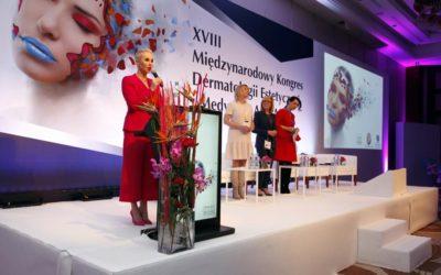 XVIII Kongres Dermatologii Estetycznej i Anti-Aging w Warszawie